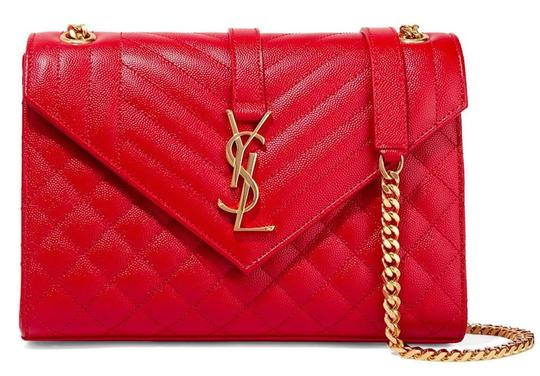 Saint Laurent Ysl Quilted Cross Body Bag Image 6