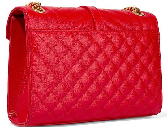 Saint Laurent Ysl Quilted Cross Body Bag Image 8