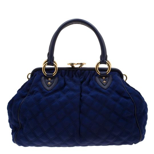Marc Jacobs Quilted Satchel in Purple Image 1