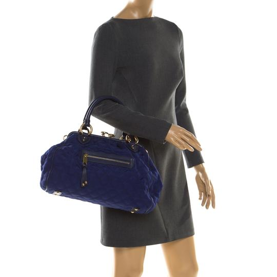 Marc Jacobs Quilted Satchel in Purple Image 2