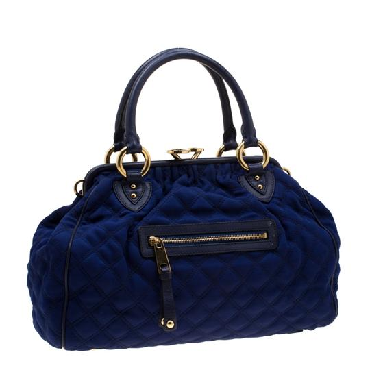 Marc Jacobs Quilted Satchel in Purple Image 3