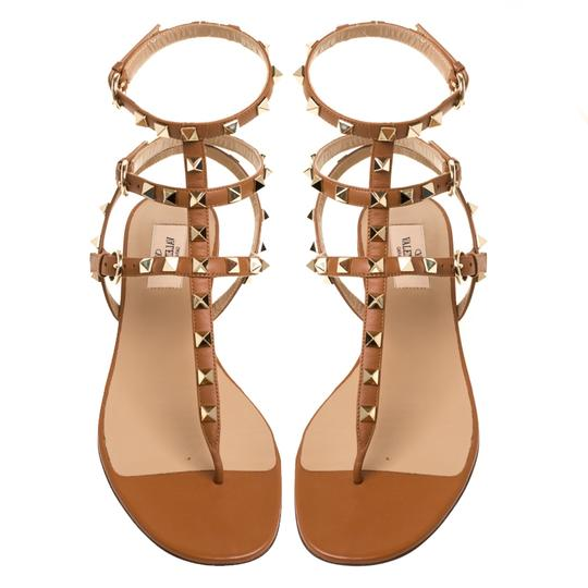 Valentino Leather Brown Sandals Image 2