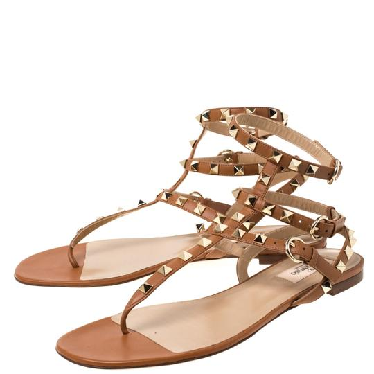 Valentino Leather Brown Sandals Image 3