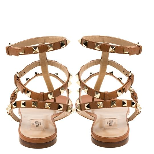 Valentino Leather Brown Sandals Image 4
