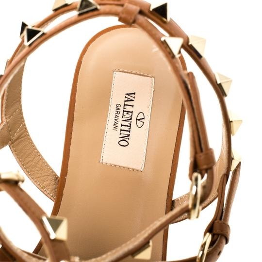 Valentino Leather Brown Sandals Image 5
