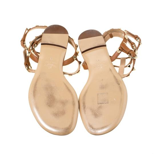 Valentino Leather Brown Sandals Image 6