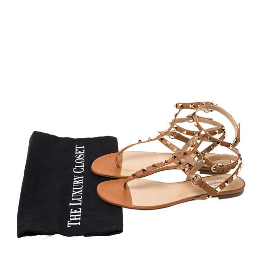 Valentino Leather Brown Sandals Image 7