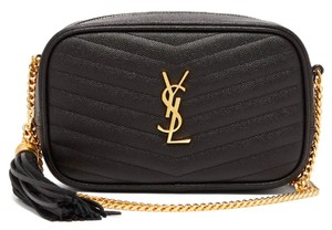 Saint Laurent Ysl Lou Ysl Cross Body Bag