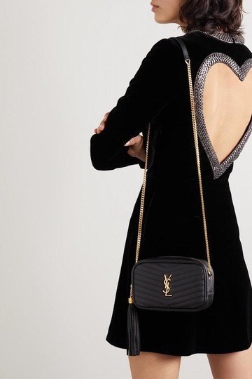 Saint Laurent Ysl Lou Ysl Cross Body Bag Image 1