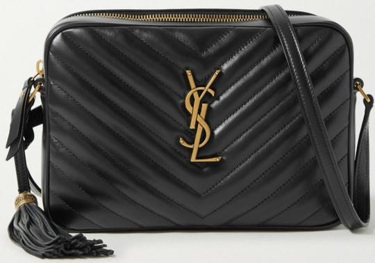 Saint Laurent Ysl Leather Monogram Lou Cross Body Bag Image 11