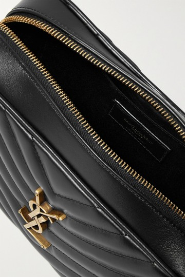Saint Laurent Ysl Leather Monogram Lou Cross Body Bag Image 5