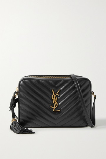 Saint Laurent Ysl Leather Monogram Lou Cross Body Bag Image 8