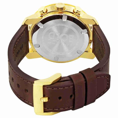 Movado MOVADO Men's Bold Gold Dial Chronograph Watch 3600409 Image 1