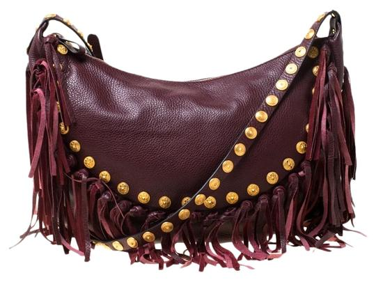 Valentino Leather Suede Hobo Bag Image 0