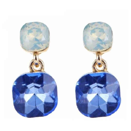 Preload https://img-static.tradesy.com/item/26872488/kate-spade-blue-and-gold-double-drop-dangling-earrings-0-0-540-540.jpg