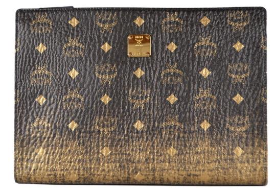 Preload https://img-static.tradesy.com/item/26872513/mcm-ombre-new-visetos-logo-black-gold-purse-pouch-multicolor-coated-canvas-clutch-0-0-540-540.jpg