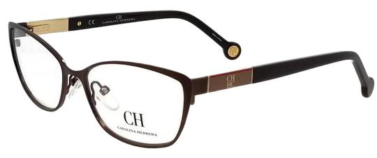 Carolina Herrera VHE073-0G28-54 Eyeglasses Size 54mm 16mm 140mm Brown Image 0