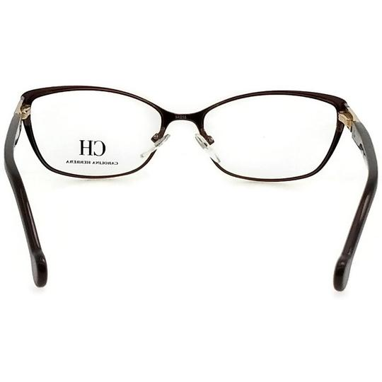 Carolina Herrera VHE073-0G28-54 Eyeglasses Size 54mm 16mm 140mm Brown Image 3