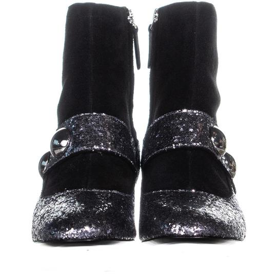 Marc Jacobs Silver Boots Image 1
