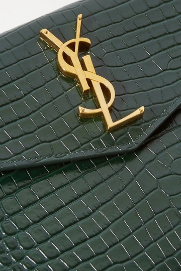 Saint Laurent green Clutch Image 9
