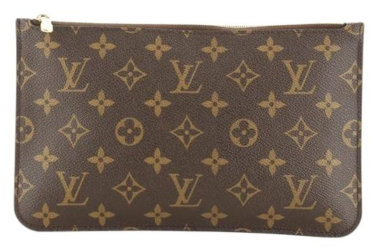 Preload https://img-static.tradesy.com/item/26872585/louis-vuitton-neverfull-pochette-monogram-large-neutral-coated-canvas-clutch-0-1-540-540.jpg