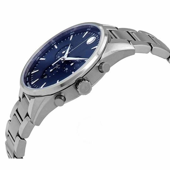 Movado MOVADO Men's Stratus Chronograph Quartz Blue Dial Men's Watch 0607248 Image 1