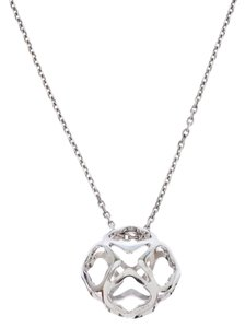 Chopard Imperiale 18K White Gold Pendant Necklace