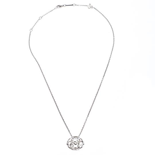 Chopard Imperiale 18K White Gold Pendant Necklace Image 1