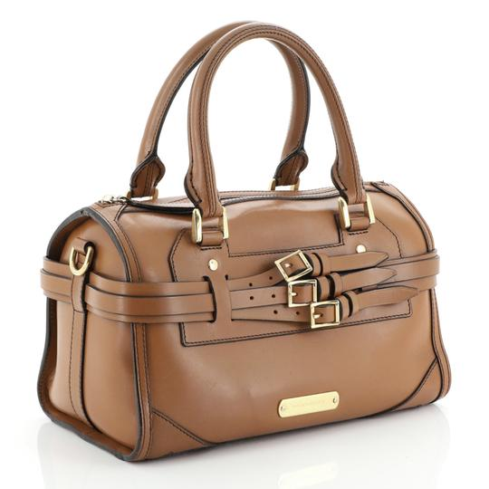 Burberry Bowling Leather Shoulder Bag Image 1