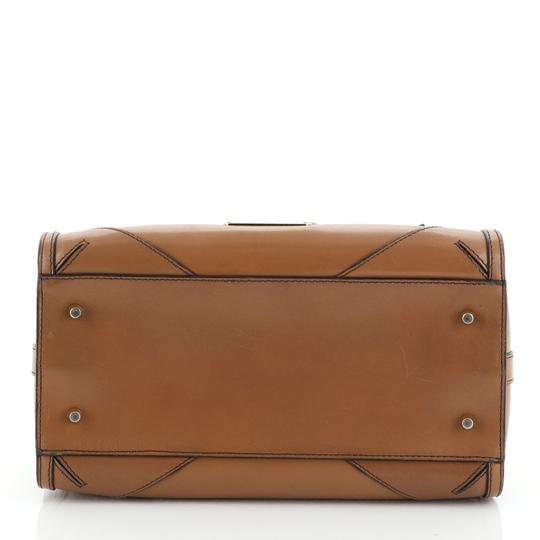 Burberry Bowling Leather Shoulder Bag Image 3