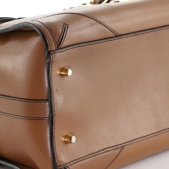 Burberry Bowling Leather Shoulder Bag Image 4