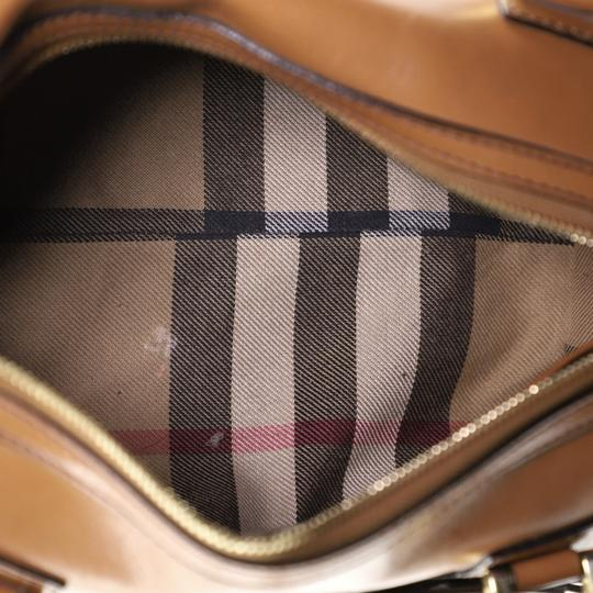 Burberry Bowling Leather Shoulder Bag Image 7