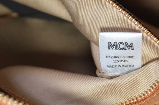 MCM Pouch Handbag Purse Wristlet in Brown Image 4