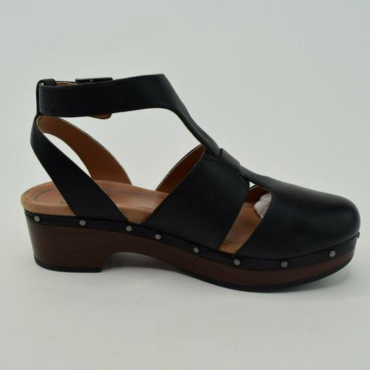 Vionic Ankle Strap Cutaway Black Boots Image 1