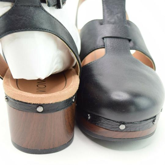 Vionic Ankle Strap Cutaway Black Boots Image 3