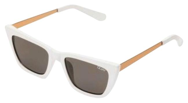 Item - White Cat Eye Sunglasses