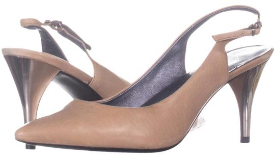 Preload https://img-static.tradesy.com/item/26872661/kenneth-cole-brown-silver-trophy-pointed-toe-slingback-heels-519-light-pumps-size-us-7-regular-m-b-0-1-540-540.jpg
