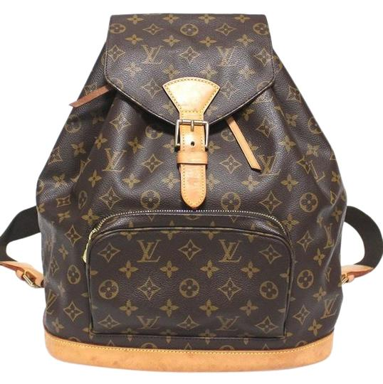 Preload https://img-static.tradesy.com/item/26872670/louis-vuitton-lv-monsouris-gm-with-dustbag-brown-canvas-backpack-0-1-540-540.jpg