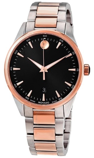 Preload https://img-static.tradesy.com/item/26872704/movado-black-men-s-quartz-dial-two-tone-men-s-0607359-watch-0-1-540-540.jpg