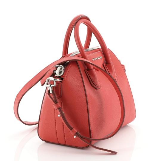 Givenchy Leather Satchel in Red Image 1