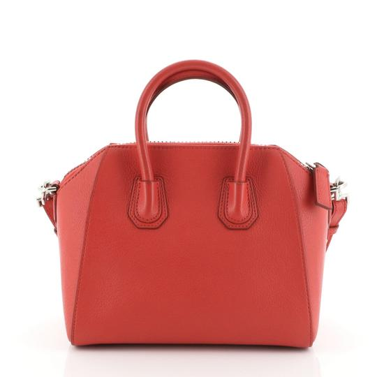Givenchy Leather Satchel in Red Image 2