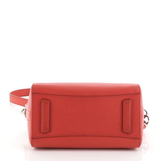 Givenchy Leather Satchel in Red Image 3