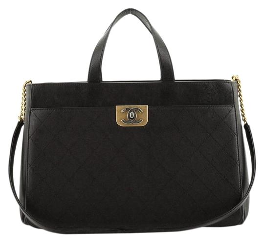 Preload https://img-static.tradesy.com/item/26872707/chanel-shopping-straight-lines-zipped-quilted-calfskin-large-black-leather-tote-0-1-540-540.jpg