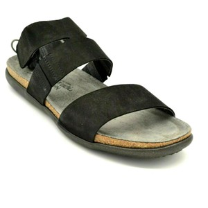 Naot Ankle Strap Black Sandals