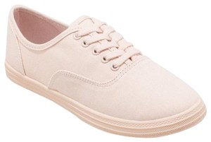 Mossimo Canvas Sneakers Pink Flats