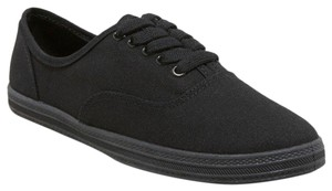 Mossimo Canvas Sneakers Black Flats