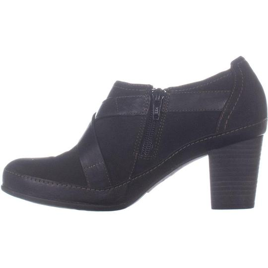 Clarks Black Boots Image 1
