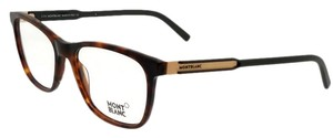 Montblanc MB0631-A56-54 Eyeglasses Size 54mm 17mm 145mm Tortoise