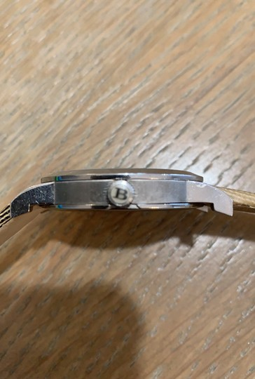 Burberry Silver Haymarket Check Leather Strap Watch BU1390 Image 7
