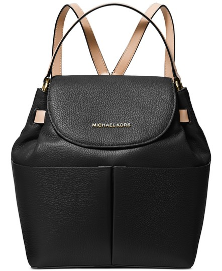 Preload https://img-static.tradesy.com/item/26872789/michael-kors-bedford-convertible-pebbled-black-leather-backpack-0-0-540-540.jpg